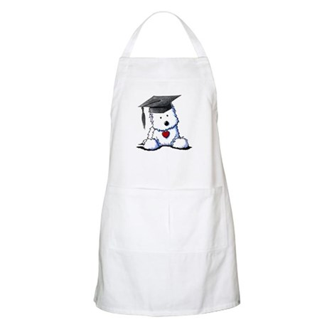 Westie Graduate BBQ Apron
