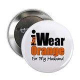 "Leukemia Ribbon 2.25"" Button"