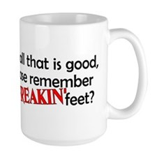 Point Your Feet Coffee Mug