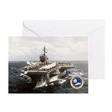 Uss constellation Greeting Cards (10 Pack)