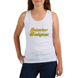 Retro Interior de.. (Gold) Women's Tank Top