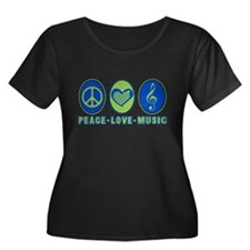 PEACE - LOVE - MUSIC T
