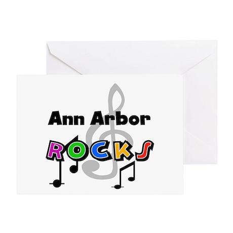 Ann Arbor Rocks Greeting Card