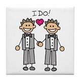 Lesbian wedding Drink Coasters
