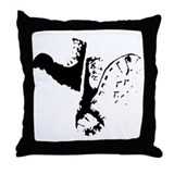 Boot Party Throw Pillow