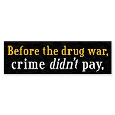 Drug War Bumper Sticker (10 pk)