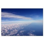 aerial clouds poster - serenity series