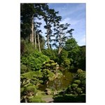 mind, body, spirit serene garden poster