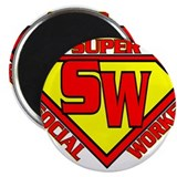 Super Social Worker Magnet
