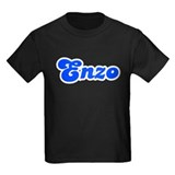 Retro Enzo (Blue) T