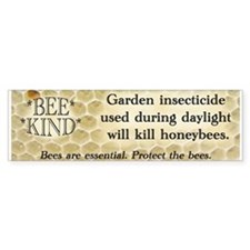 Bee Kind Bumper Bumper Sticker