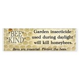Bee Kind Bumper Car Sticker