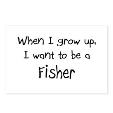 When I grow up I want to be a Fisher Postcards (Pa
