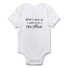 When I grow up I want to be a Fire Officer Infant