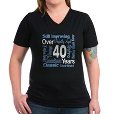 Over 40, 40th Birthday Shirt