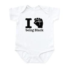 I love being black Infant Bodysuit