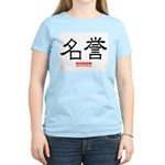 Samurai Honor Kanji (Front) Women's Pink T-Shirt