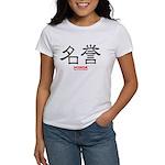 Samurai Honor Kanji (Front) Women's T-Shirt