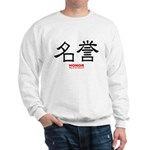 Samurai Honor Kanji Sweatshirt