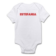 Retro Estefania (Red) Onesie