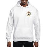 BASTINEAU Family Crest Hooded Sweatshirt
