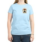 BASTINEAU Family Crest Women's Pink T-Shirt