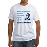 Latte-Sipping Eggheads for Obama Shirt