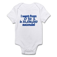 From 0 to 1 Baby Boy Infant Bodysuit