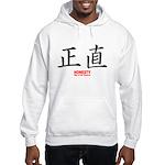 Samurai Honesty Kanji (Front) Hooded Sweatshirt