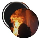 Firefighter Flashover Magnet