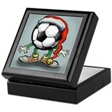 Cool Soccer Keepsake Box