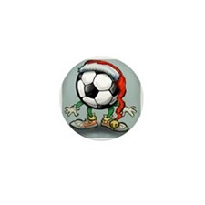 Unique Soccer player Mini Button