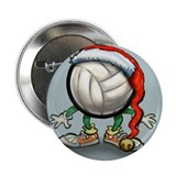 "Unique Volleyball player 2.25"" Button (10 pack)"