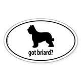 Got Briard? Oval Decal
