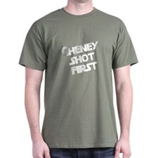 Cheney Shot first T-Shirt