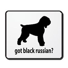 Got Black Russian? Mousepad