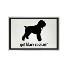 Got Black Russian? Rectangle Magnet