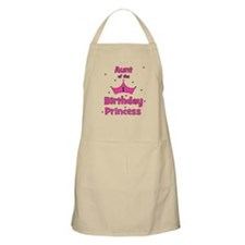 Aunt of the 1st Birthday Prin BBQ Apron