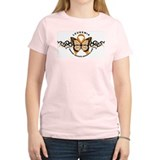 Leukemia Butterfly Orange T-Shirt