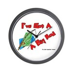 I've Got A Big Rod Fishing Wall Clock