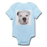 American Bulldog Infant Creeper