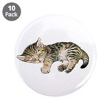 "Cat Nap 3.5"" Button (10 pack)"