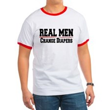 REAL MEN CHANGE DIAPERS (DADDY GIFT) T
