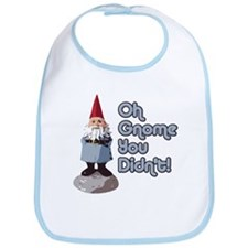 Oh Gnome You Didn't! Bib