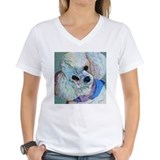 White Poodle Shirt