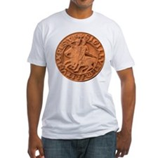 Wax Templar Seal Fitted T-Shirt