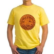 Wax Templar Seal Yellow T-Shirt
