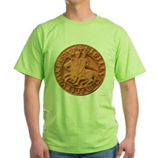 Wax Templar Seal Green T-Shirt