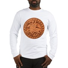 Wax Templar Seal Long Sleeve T-Shirt