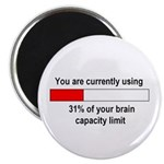 BRAIN CAPACITY LIMIT Magnet